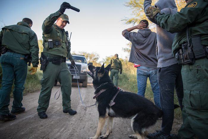 US Border Patrol, immigration