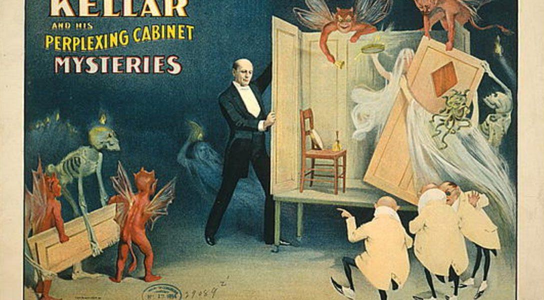 Kellar, perplexing cabinet mysteries
