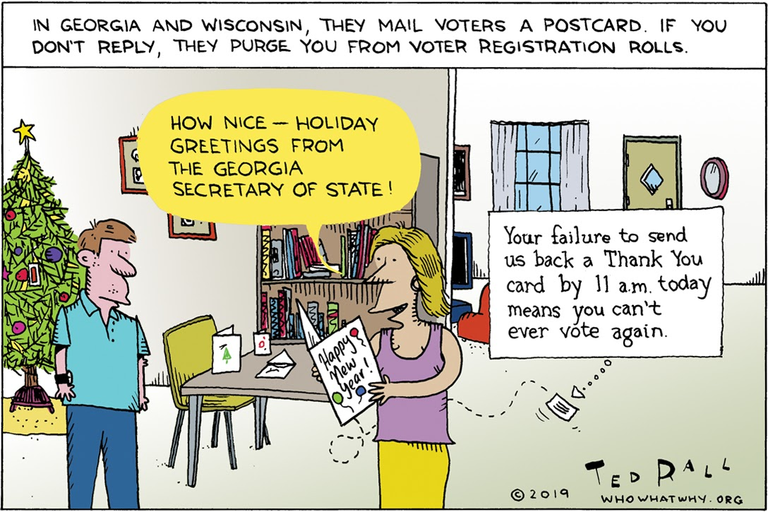 Ted Rall, cartoons