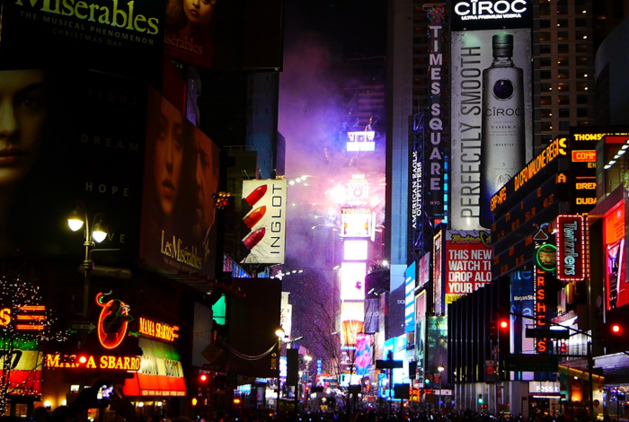 climate crisis, Times Square ball drop, students