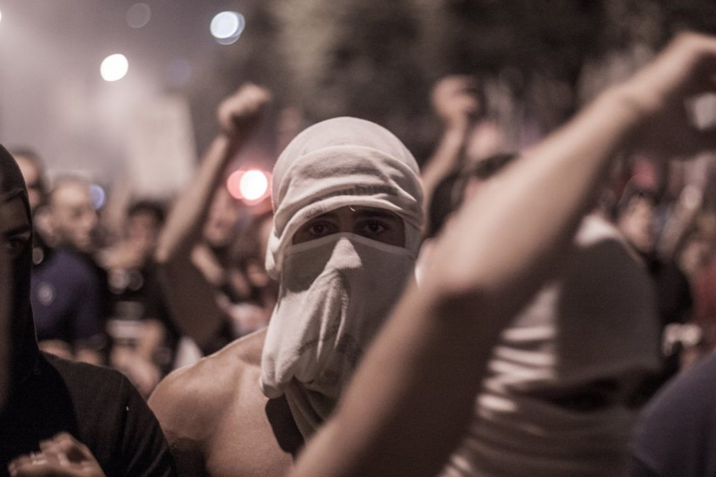 Protester, Beirut