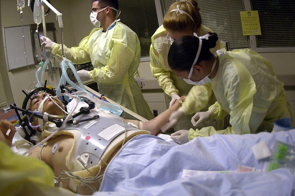 Emergency Room, surgery, gunshot wound
