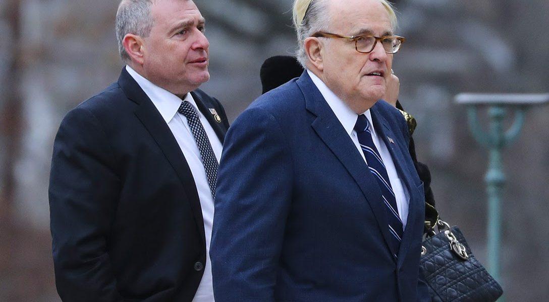 Rudy Giuliani, Lev Parnas