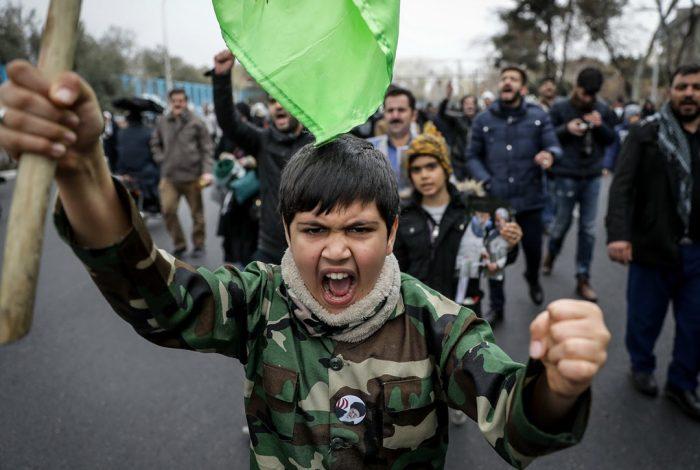 Tehran, Iran, protest