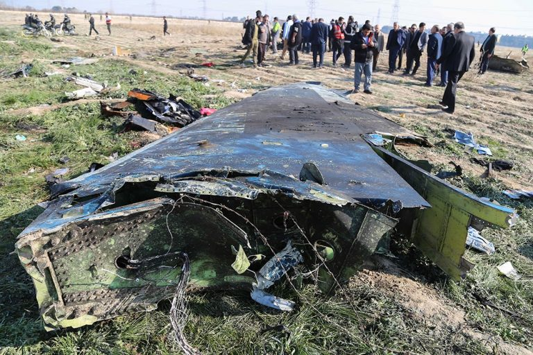 Ukrainian airline Boeing 737, shot down