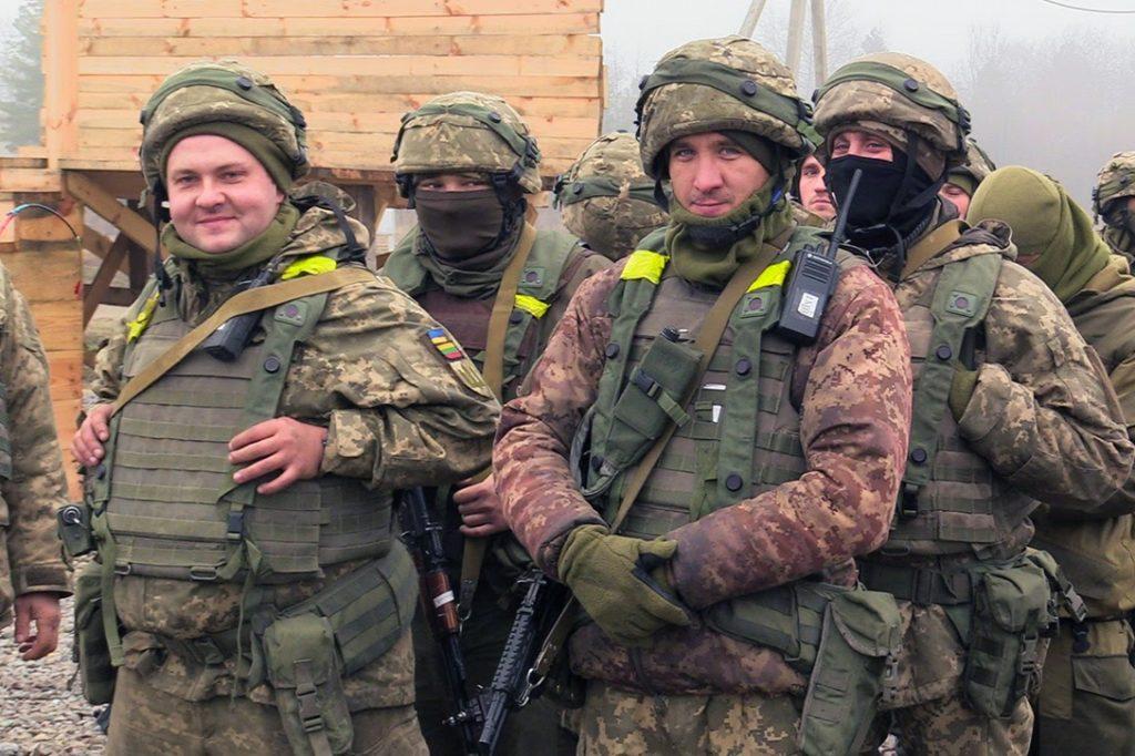 Ukraine, troops