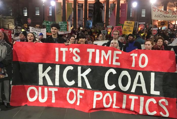 Australia, climate crisis protest