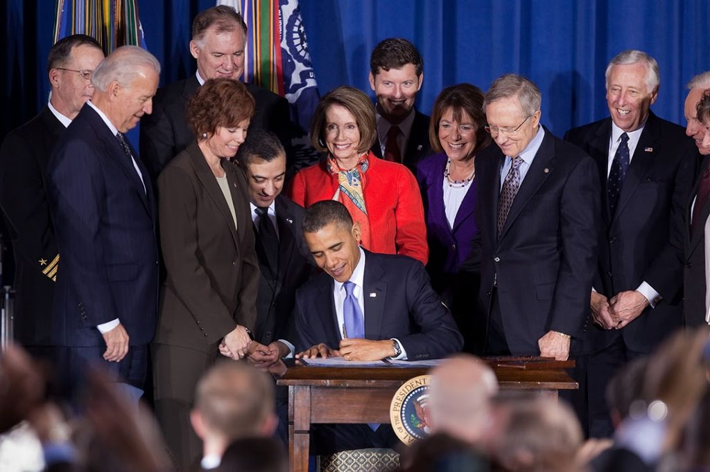 Barack Obama, Don't Ask Don't Tell Repeal Act