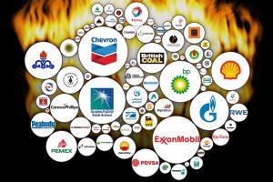 oil companies, flames, fire