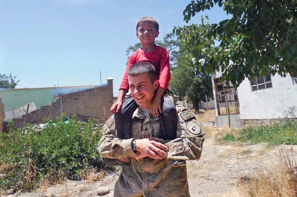 Pete Buttigieg, Afghanistan, orphanage
