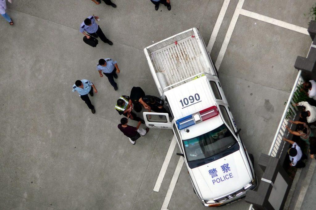 police, arrest, Shenzhen