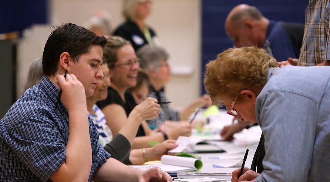 Voters, Mehlville Missouri, 2016