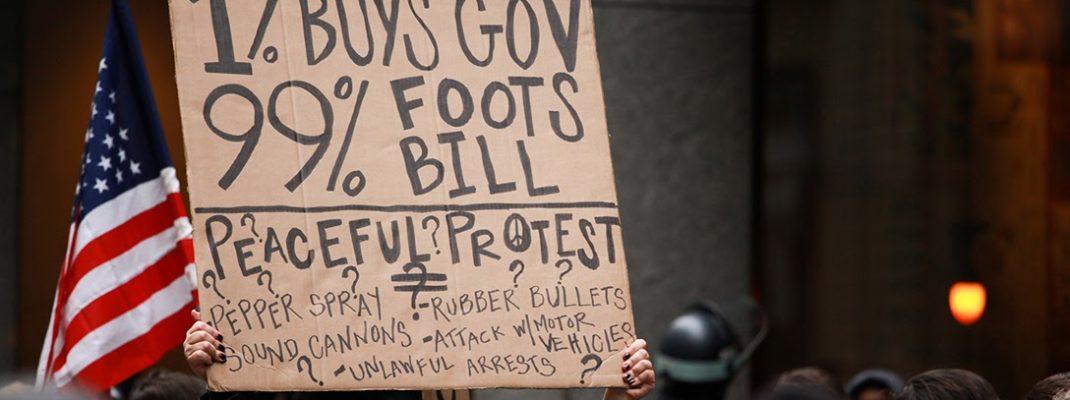 99 percent, protest
