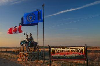 Blackfeet, native Americans, Montana