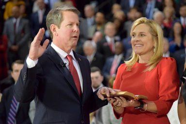 Brian Kemp, governor, Georgia