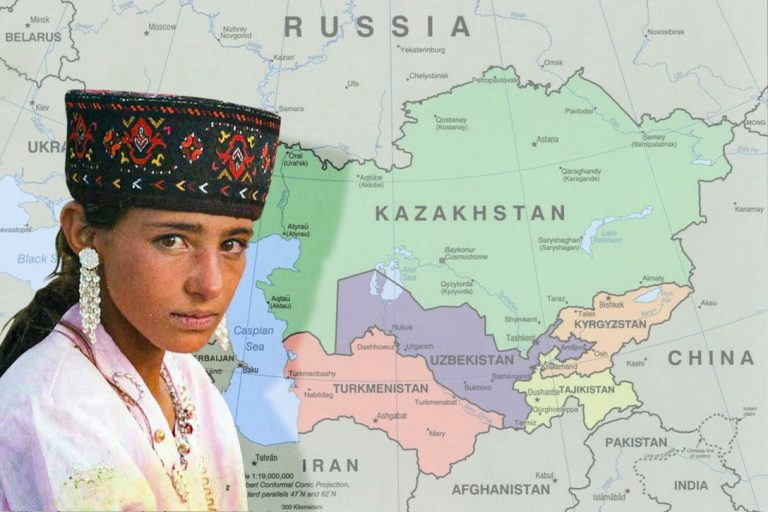 Central Asia, Tajik, girl