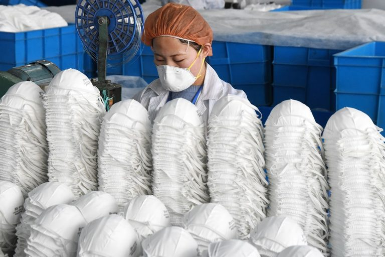 facemask, factory