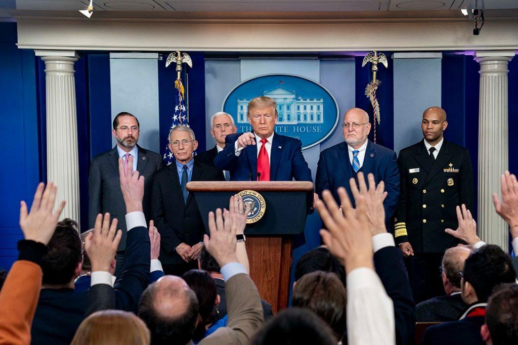Donald Trump, Coronavirus Task Force