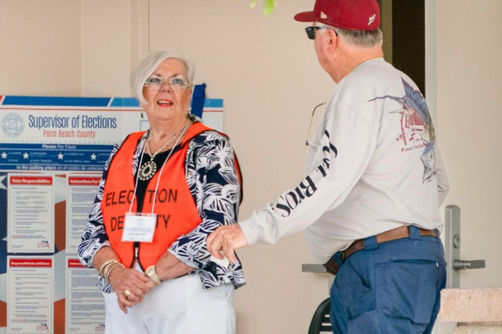 Florida, Poll Worker, Primary 2020
