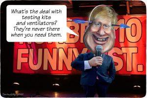 Boris Johnson, coronavirus