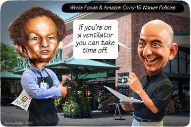 John Mackey, Jeff Bezos, Whole Foods, Amazon
