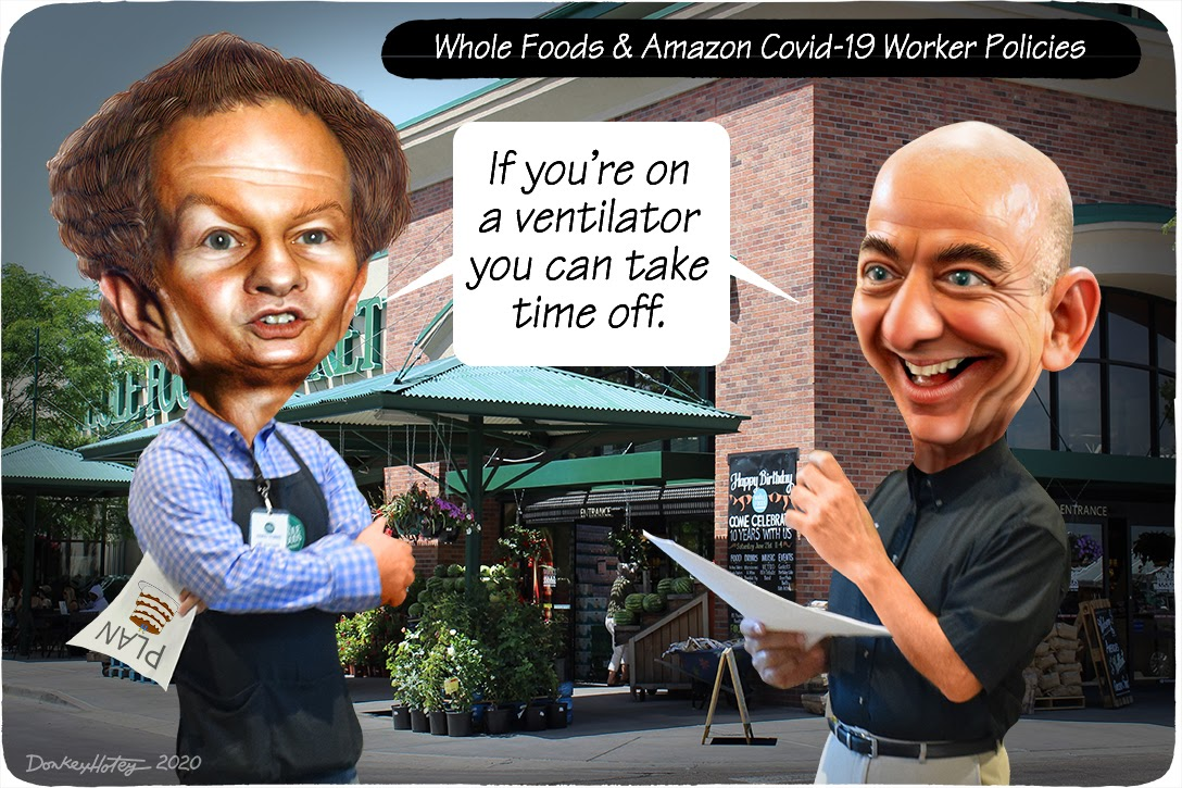 John Mackey, Jeff Bezos, Whole Foods, Amazon