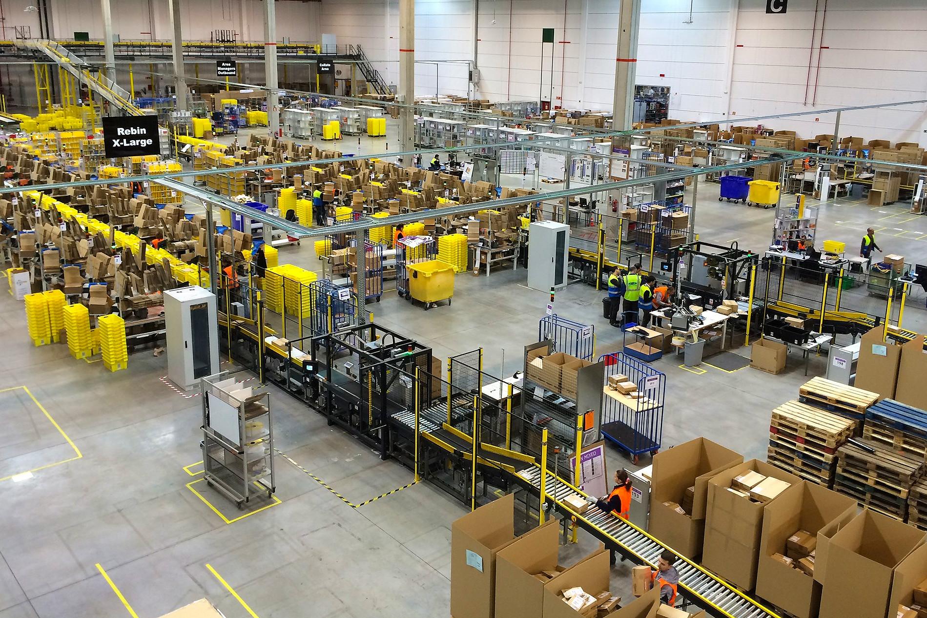 Amazon, workers, coronavirus