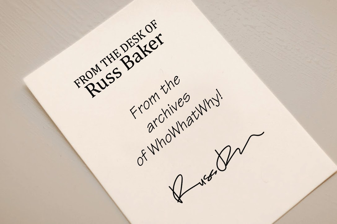 Note, Russ Baker, WhoWhatWHy