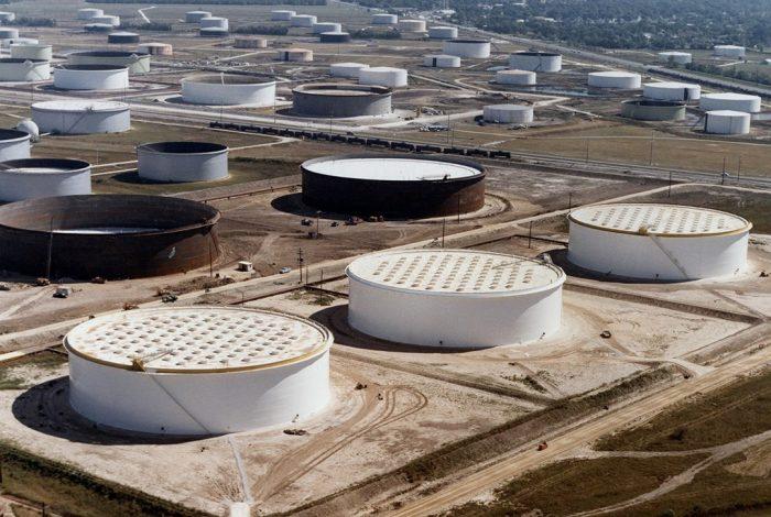 crude oil storage, Sunoco