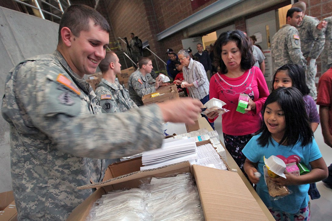 Hurricane Sandy, National Guard, Shelter