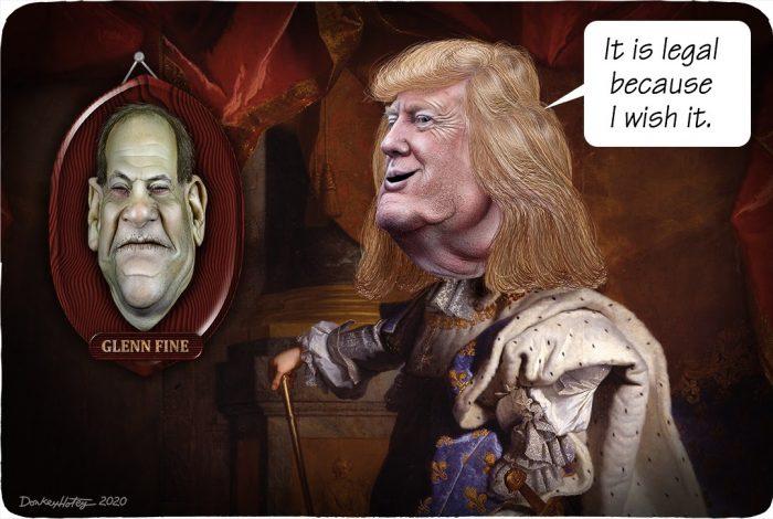 Donald Trump, Glenn Fine