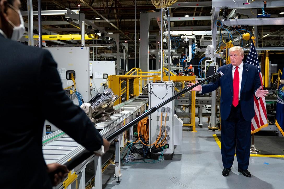 Donald Trump, Ford Rawsonville, Michigan