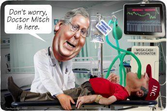 Mitch McConnell, COVID-19, immunity