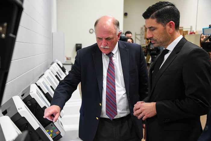 HHS, Chad Wolf, voting machines