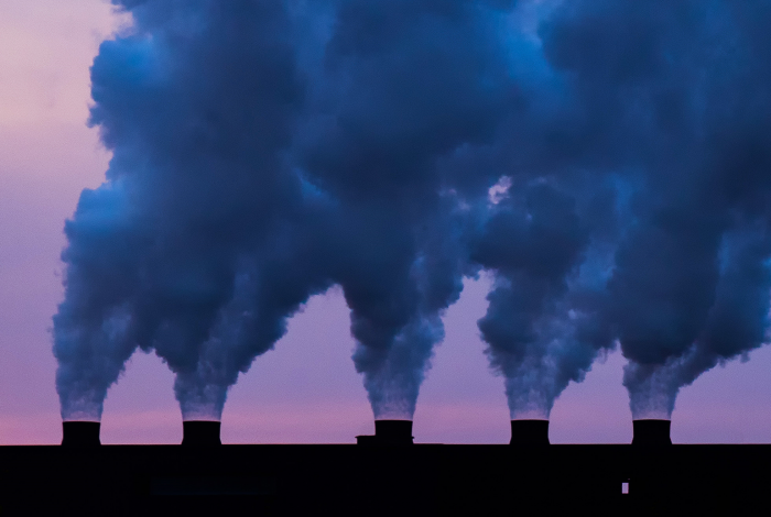 Greenhouse gas emissions, largest decline, new report