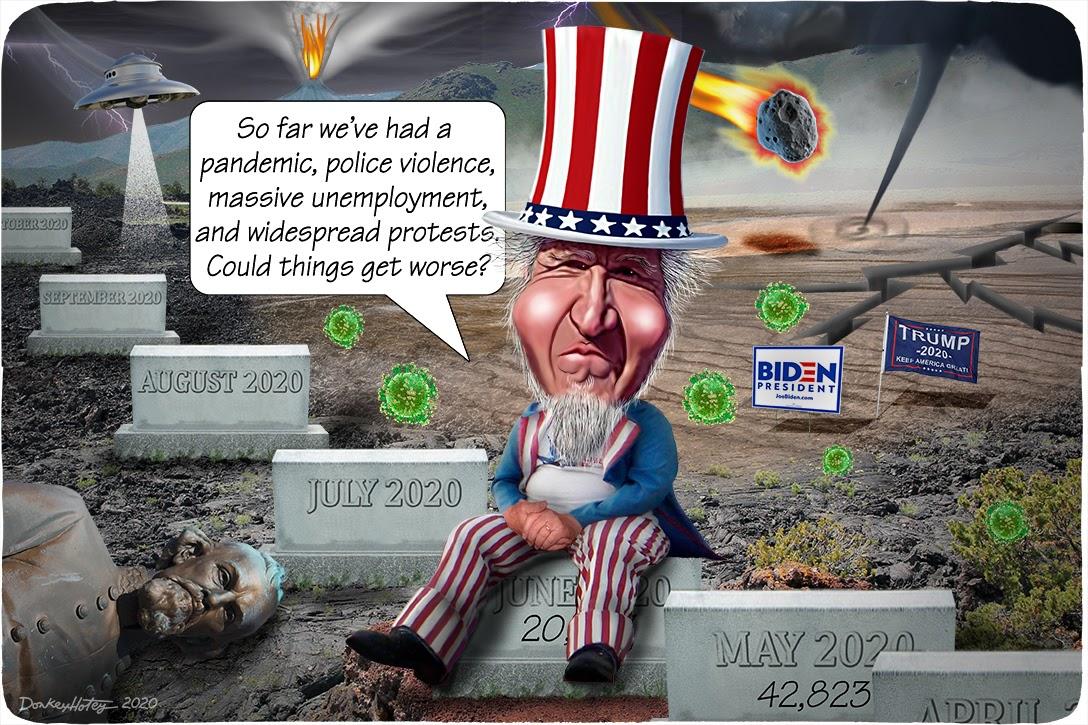 Uncle Sam, 2020, bad year