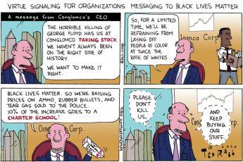 Black Lives Matter, corporations