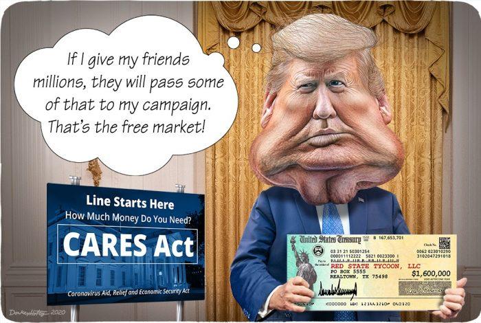 Donald Trump, CARES Act