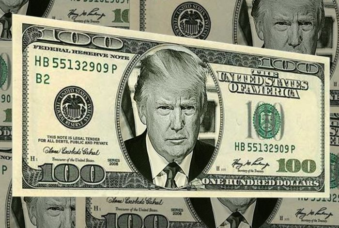 Donald Trump, Counterfeit President