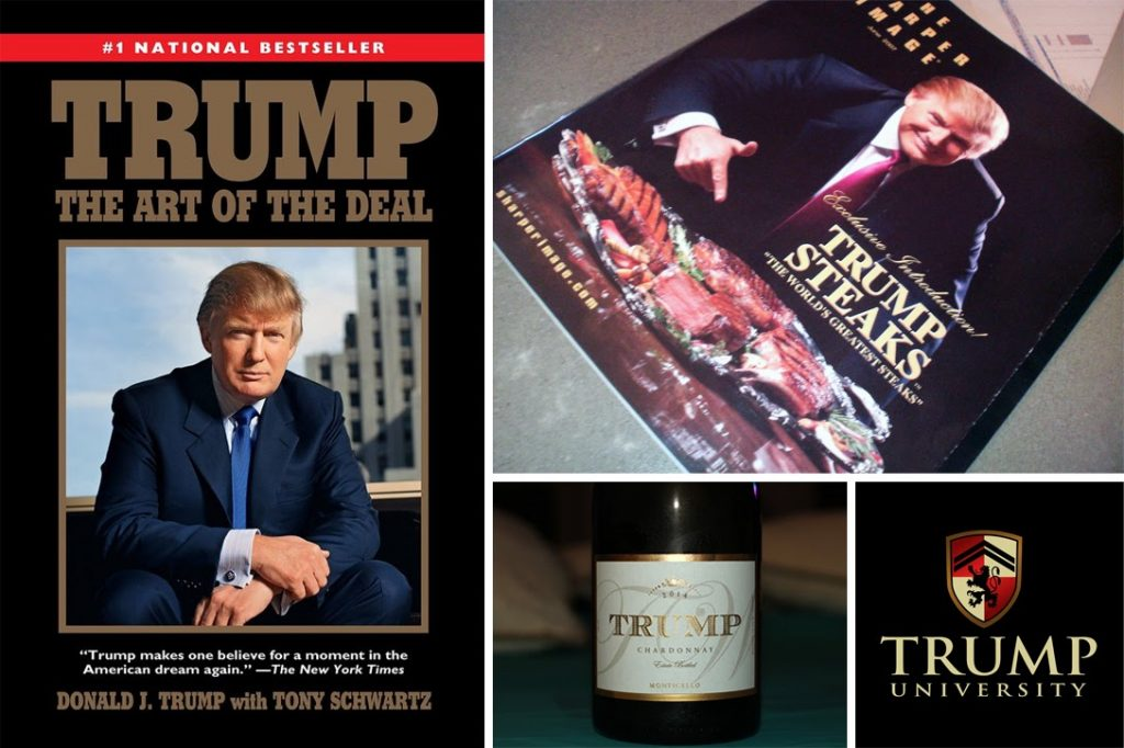 Donald Trump, products