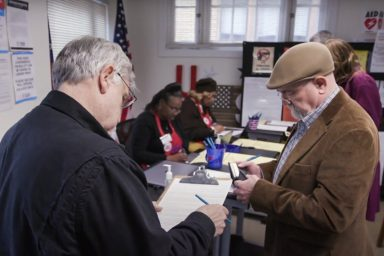 Georgia, election, voters, poll workers