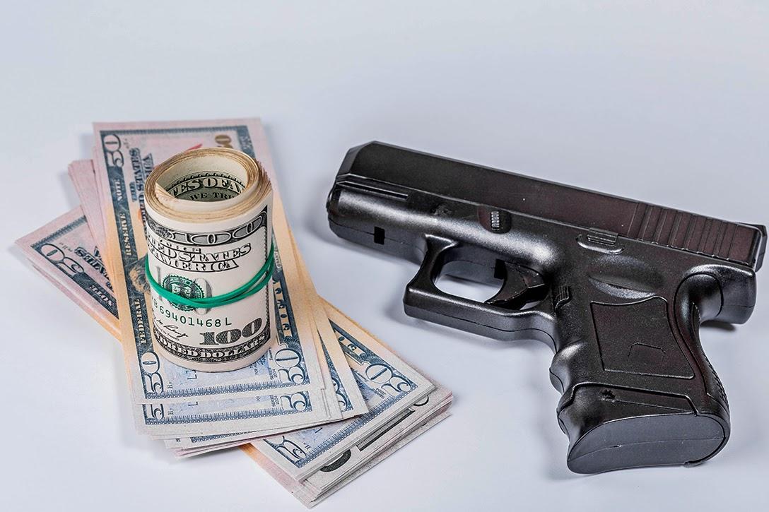 Gun and Money Against Covid19
