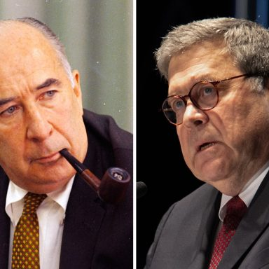 The Arrogance of Power: Bill Barr and the Ghost of John Mitchell