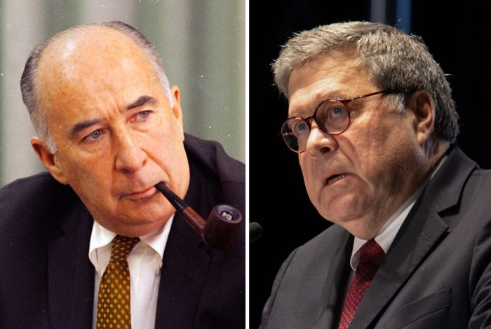 John Mitchell, William Barr