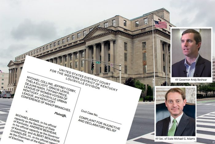 US District Court for the Western District, Michael G. Adams, Andy Beshear