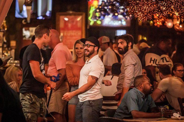 Patrons, Rocco's Tacos, Florida
