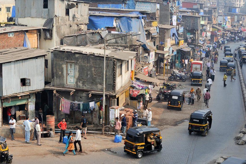 slums, Dharavi, India