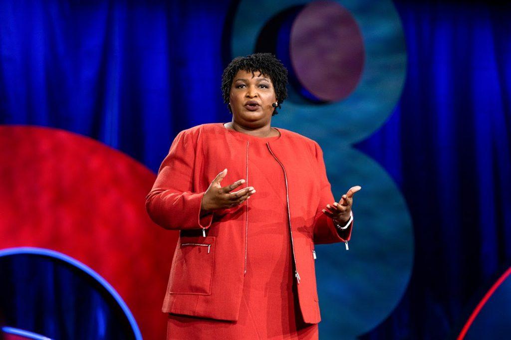 Stacey Abrams, TEDWomen 2018