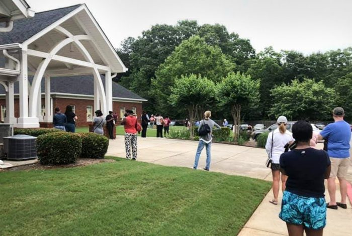 Voting, Marietta, Georgia