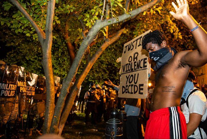George Floyd, protest, US